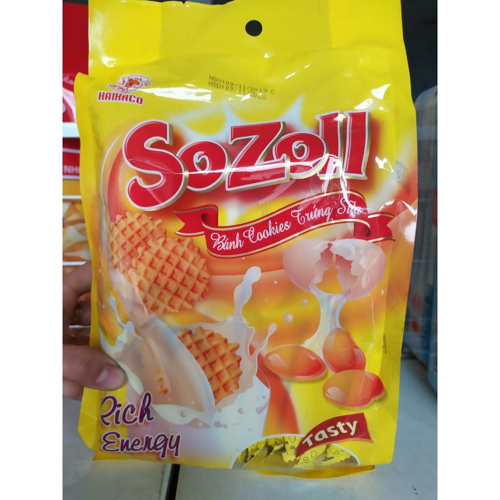 Bánh quy trứng sữa Sozoll Hải Hà giảm chỉ còn 23,000 đ