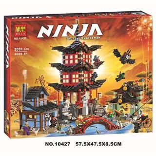 lắp ráp lego 70751 ninjago Ngôi Đền Airjitzu Ninjago lepin 06022, bela 10427