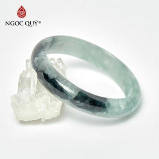 Vòng cẩm thạch liền khối jadeite jade Mệnh Hỏa , Mộc - Ngọc Quý thumbnail