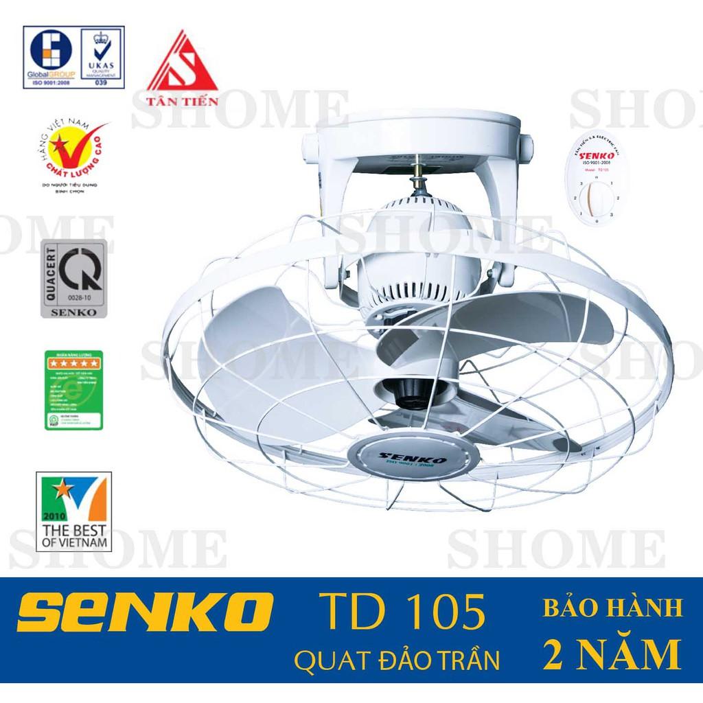 Quạt đảo trần cao cấp Senko TD105 - 3527492 , 939984807 , 322_939984807 , 350000 , Quat-dao-tran-cao-cap-Senko-TD105-322_939984807 , shopee.vn , Quạt đảo trần cao cấp Senko TD105