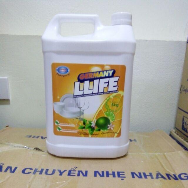 Sỉ 2 can Nước rửa chén 5 lít
