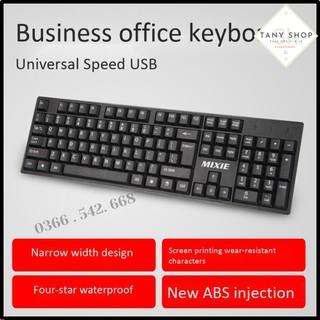Bàn Phím Máy Tính KEYBOARD USB MIXIE X7 Văn Phòng Chính hãng Thái lan bảo hành 12 tháng thumbnail