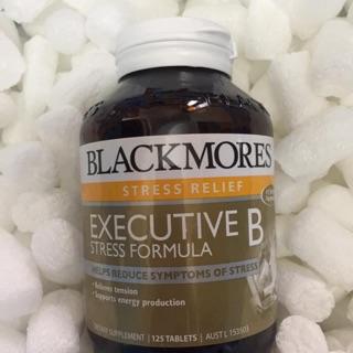 Viên Uống Blackmores Executive B Stress Formula giảm căng thẳng, mệt mỏi.