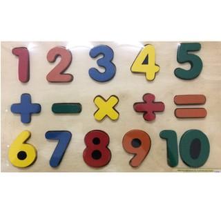 Bảng số nổi học tính lắp ghép Minh Thành