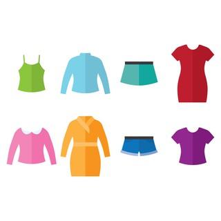 gói Cầm Màu quần áo 7