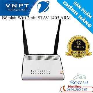 Bộ phát sóng Wifi VNPT 2 râu STAV-1404, 1405 AMR tốc độ Wi-Fi chuẩn N 300Mbps ,Tốc độ rất là Nhanh, Cao- Bảo hành 12 TH
