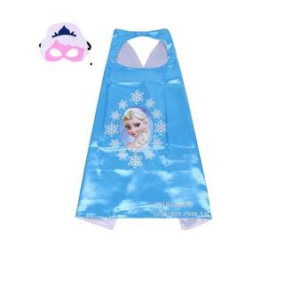 Choàng Elsa kèm mặt nạ