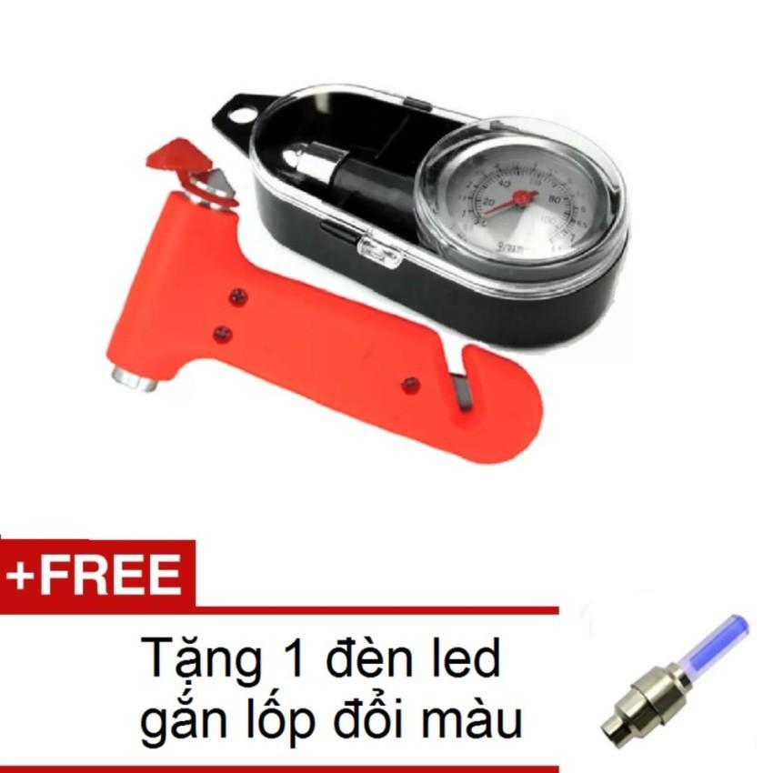 Bộ Đồng Hồ Đo Áp Suất Lốp Xe và Búa Thoát Hiểm Trên Xe Ôto 069-206 + Tặng đèn led gắn van xe TL 131 - 3345674 , 831367952 , 322_831367952 , 194000 , Bo-Dong-Ho-Do-Ap-Suat-Lop-Xe-va-Bua-Thoat-Hiem-Tren-Xe-Oto-069-206-Tang-den-led-gan-van-xe-TL-131-322_831367952 , shopee.vn , Bộ Đồng Hồ Đo Áp Suất Lốp Xe và Búa Thoát Hiểm Trên Xe Ôto 069-206 + Tặng đèn