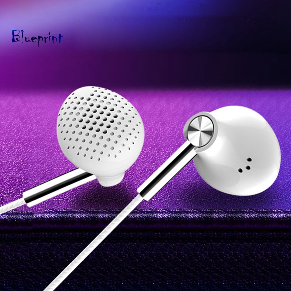 ☞BPNoise Isolating Wired In-ear Earbuds Mic Volume Control Earphones for Phone PC