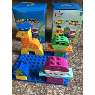 Bộ lego lắp ghép vui nhộn