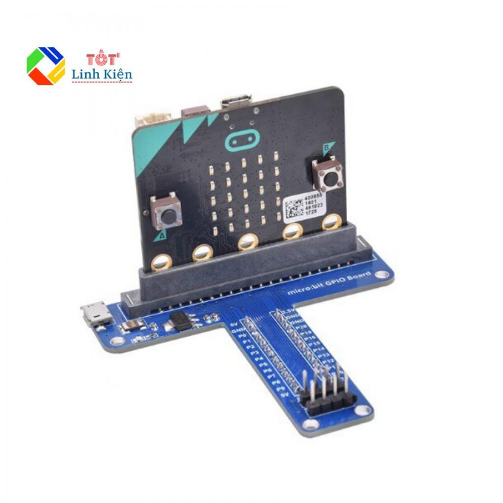 [Mã TOYJAN hoàn 20K xu đơn 50K] Board Mở Rộng GPIO Microbit - Dạng Chữ T, Dùng Với Breadboard