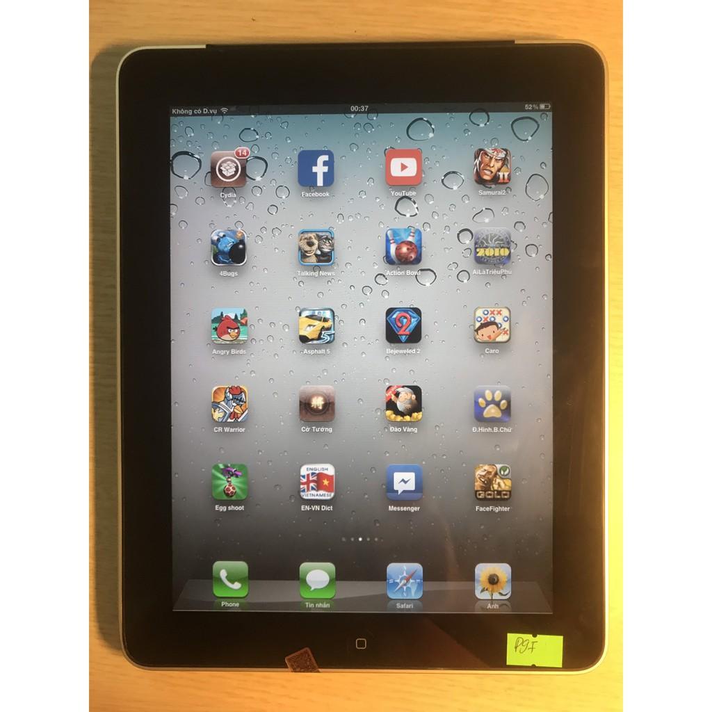 Máy tính bảng IPAD1 CHÍNH HÃNG APPLE BẢN 3G - WiFi, cài full ứng dụng, tặng full phụ kiện, bảo hành 6 tháng.