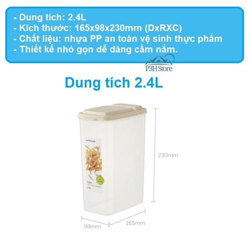 Hộp bảo quản thực phẩm khô Lock&Lock P&Q Dry Food Canister