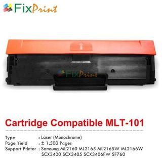 Hộp Đựng Mực In Màu Đen Tương Thích Với Samsung Mlt-101 Mlt101 Mlt-d101s