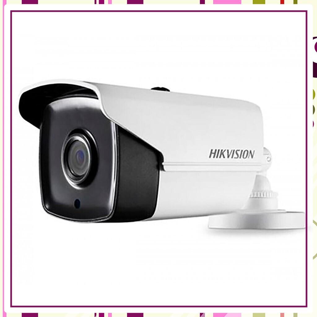 (Sale Tẹt Ga) Camera HD-TVI hình trụ hồng ngoại thông minh 80m ngoài trời 3MP HIKVISION DS-2CE16F1T-IT5 ( Trắng)