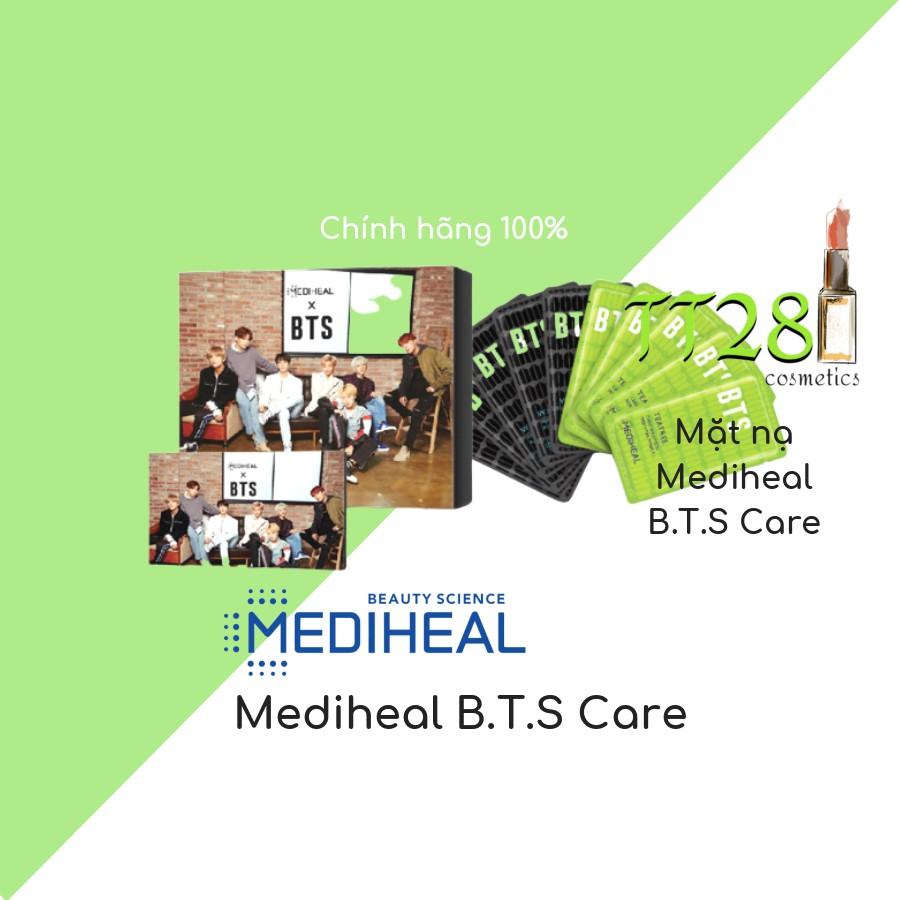 Mặt nạ Mediheal B.T.S Care có ảnh nhóm BTS trong hộp ( TT28 Cosmet