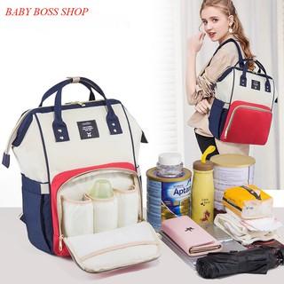 Balo thời trang cho mẹ, balo bỉm sữa đa năng, tiện lợi thumbnail