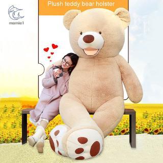 Teddy Bear Big Stuffed Toy Cover Huge Skin DIY Dolls Plush Soft Gift For Christmas
