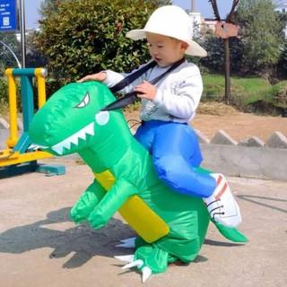 [SIEU KHUYEN MAI GIA SOC] Quần khủng long dạo phố cho bé tặng kèm bơm hơi