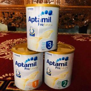 Sữa Aptamil 1,2,3