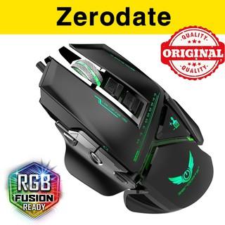 Chuột gaming Zerodate G12 - Chuột chơi game Zerodate 3200DPI led RGB G90 thumbnail