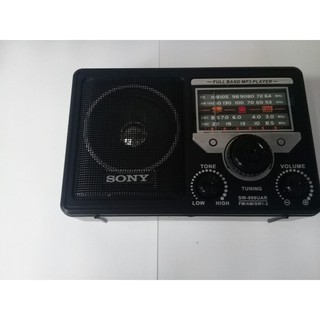 Đài nghe nhạc, radio, đọc thẻ nhớ USB Sony