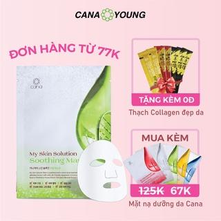 Mặt Nạ Nha Đam Làm Dịu Da Hàn Quốc Cana My Skin Solution Soothing thumbnail