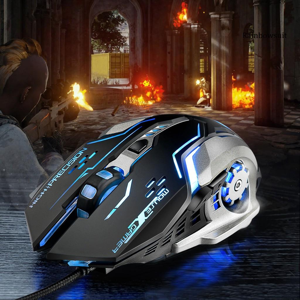 Chuột Gaming Rb-Ywyt G815 6 Nút Bấm Có Đèn Led Màu Sắc