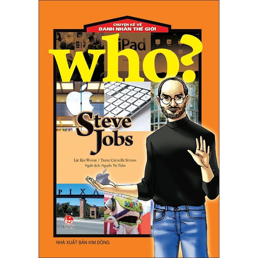 Sách: Chuyện Kể Về Danh Nhân Thế Giới - Steve Jobs