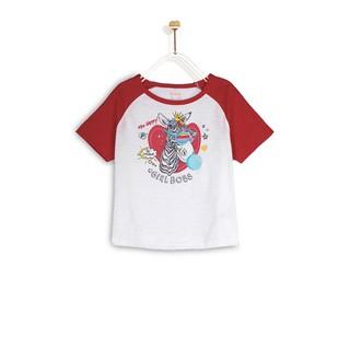 Áo Thun Bé Gái M.D.K Horse Raglan T-Shirt M.D.K