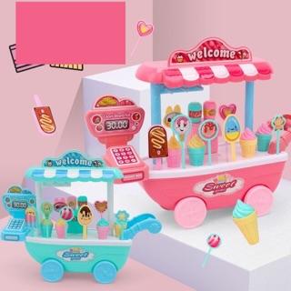 Đồ chơi xe đẩy kem nhỏ xinh cho bé