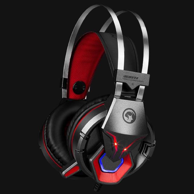 [SALE 10%] Tai nghe chụp tai, headphone Gaming MARVO HG8914 usb + 3 ly