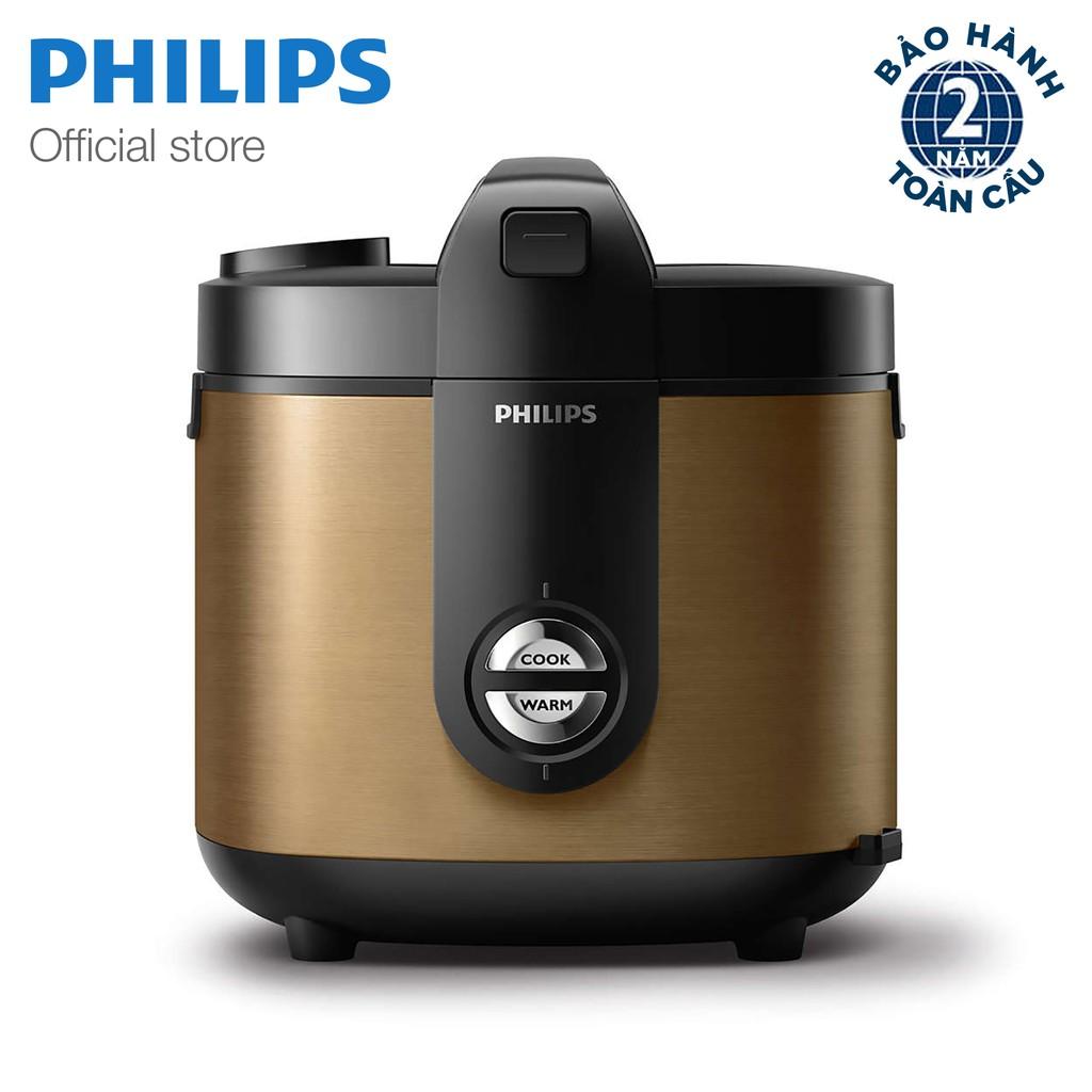 Nồi cơm điện PHILIPS HD3128/68 (màu đồng)