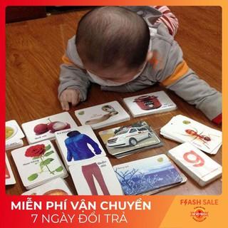 [CAO CẤP] Bộ Thẻ Học Thông Minh 16 Chủ Đề Tiếng Anh Tiếng Việt Cho Bé