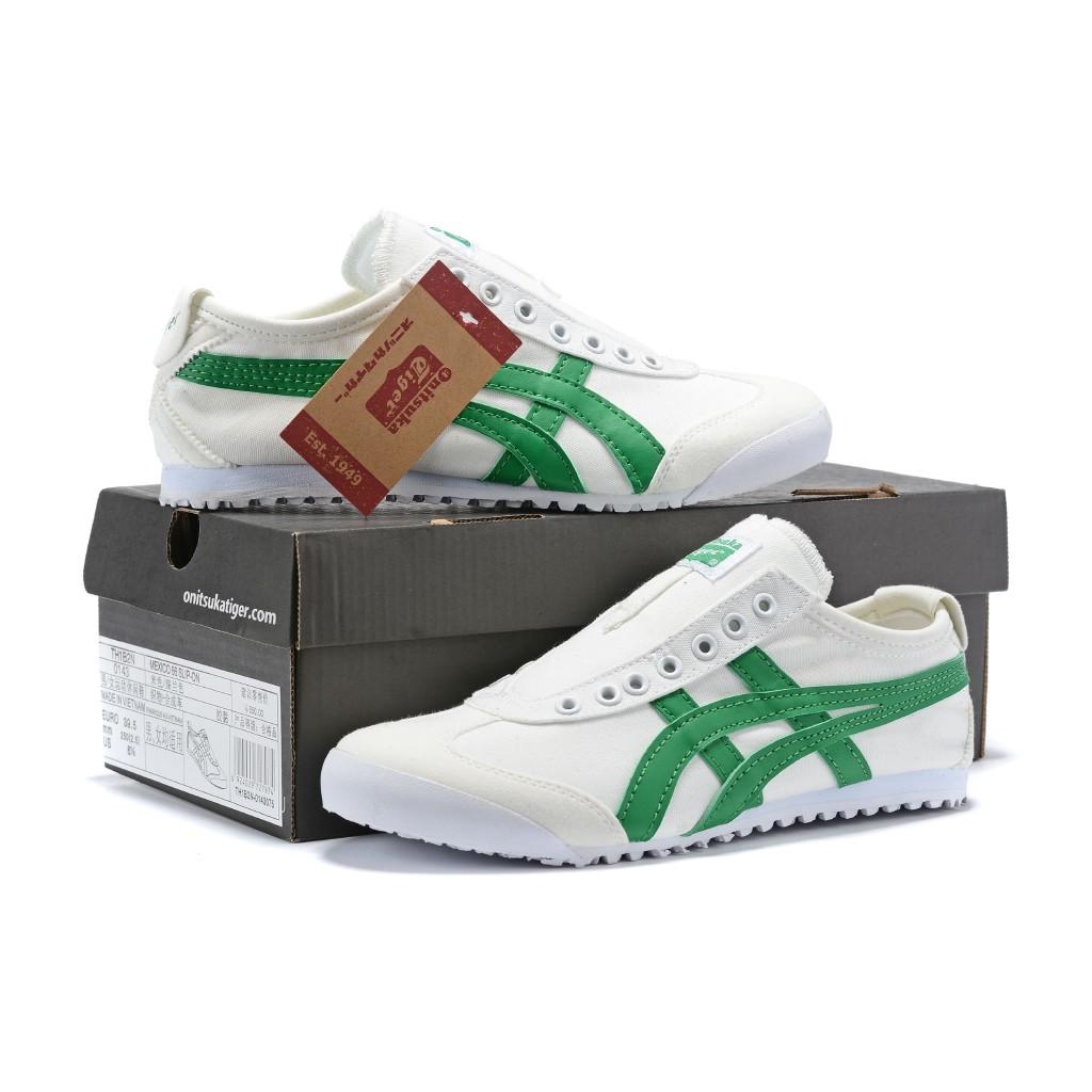 Original Asics tiger Canvas shoes flatshoes running shoes for men/women fashion195