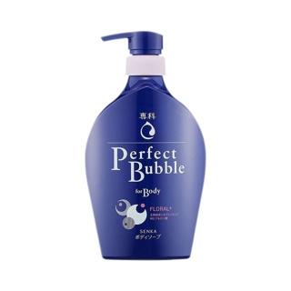 [HB Gift] Sữa tắm dưỡng ẩm hương hoa tươi mát Senka Perfect Bubble for Body Floral Plus n 500ml_13729