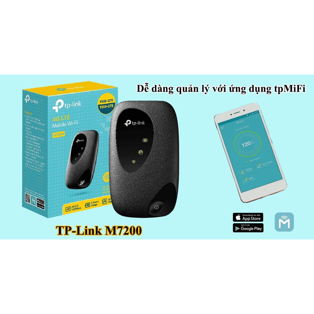 Bộ phát wifi 4G TP-Link 4G LTE M7200