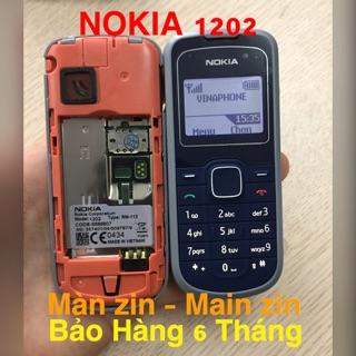 [ Giảm Giá 30% ] – Điện Thoại NOKIA 1202 CTy Made In VIET NAM – Phụ Kiện – Pin – Sạc Zin Công Ty – Bảo Hành 6 Tháng