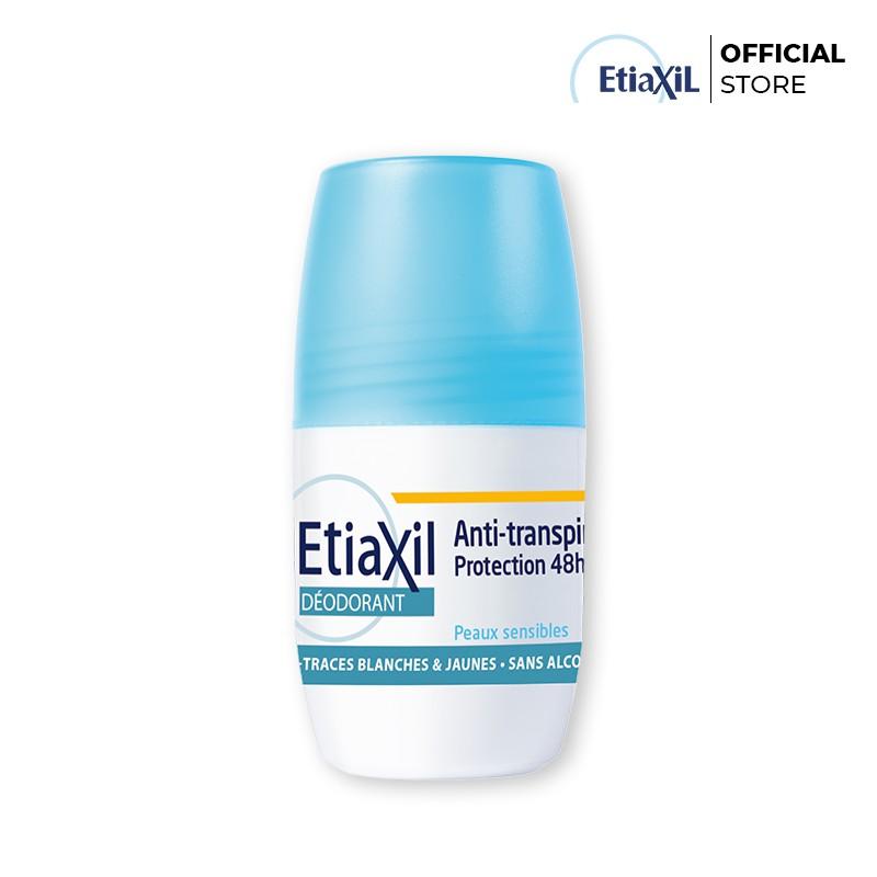 Combo Etiaxil Lăn khử mùi và điều tiết mồ hôi Nhãn Xanh 15ml; Khử mùi Chân Dạng Xịt 100ml và Khử mùi Dạng Lăn 50ml