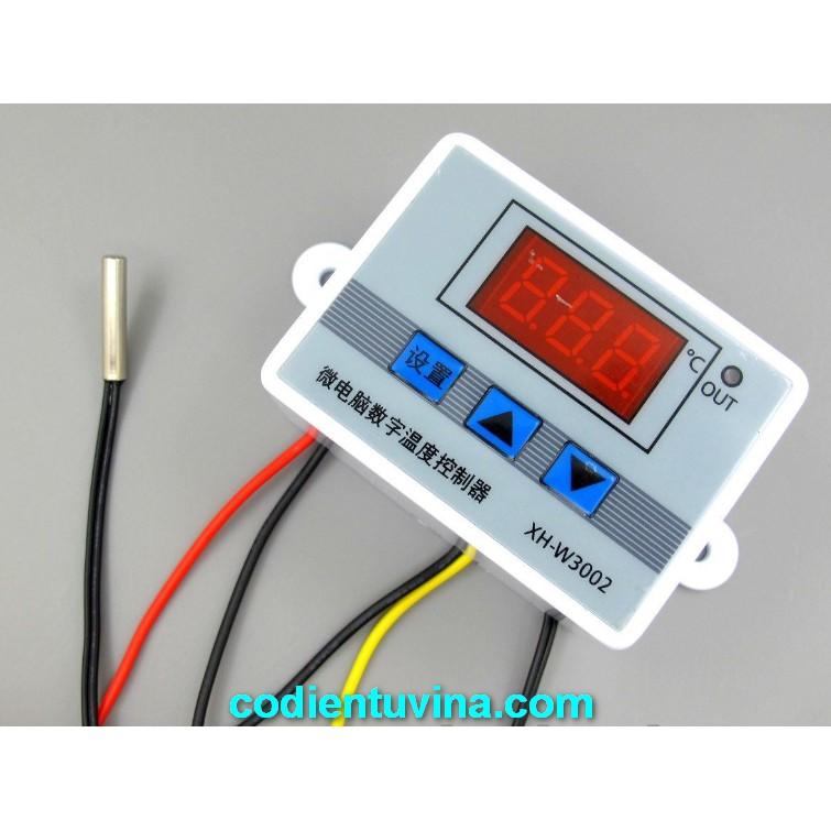 Bộ điều khiển nhiệt độ XH W3002 - 3467467 , 759428085 , 322_759428085 , 128000 , Bo-dieu-khien-nhiet-do-XH-W3002-322_759428085 , shopee.vn , Bộ điều khiển nhiệt độ XH W3002
