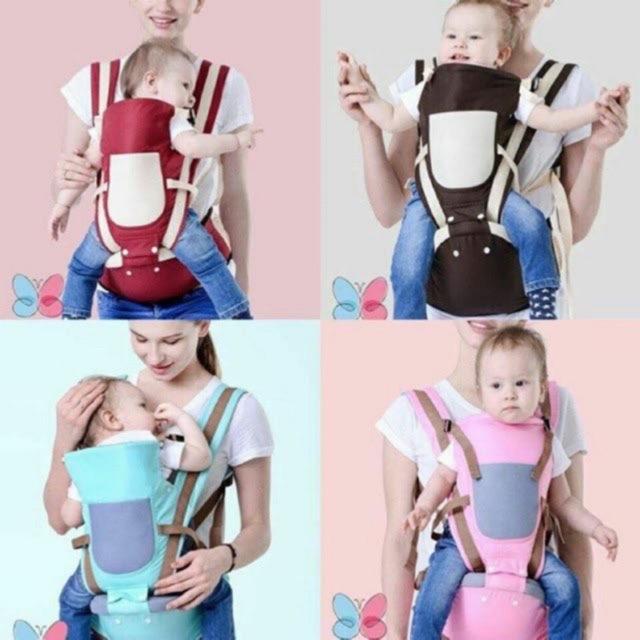 Địu ngồi trẻ em BabyLab chính hãng - có ghế chống gù