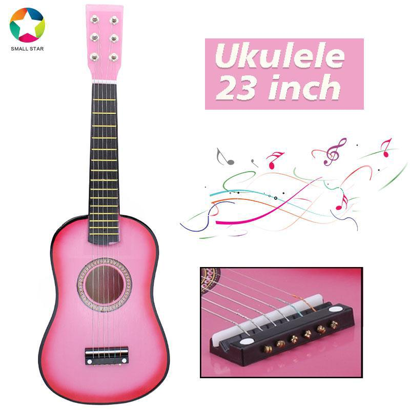 SAML Kids Toys Guitar Acoustic Guitar Basswood Musical Instruments Hands-On Ability Teaching Amusing Intellectual