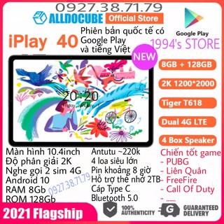 Máy tính bảng Alldocube iPlay 40 10.4inch 2K RAM 8Gb ROM 128Gb 2 sim nghe gọi 4G LTE - Bản Quốc Tế có tiếng Việt CH Play thumbnail