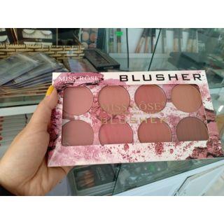 Bảng phấn má hồng 8 ô Miss Rôse tông nude thumbnail