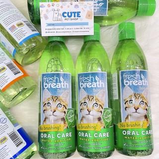 473ml - Nước vệ sinh răng miệng TropiClean đủ vị cho Mèo- TropiClean Fresh Breath Oral Care Water Additive thumbnail