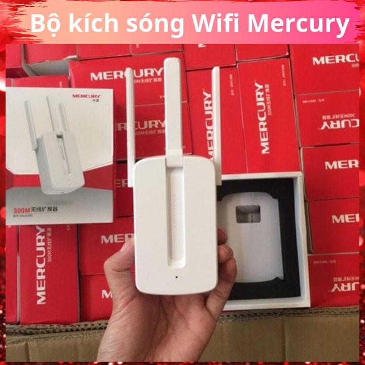 [SALE]Bộ Kích Sóng WiFi Mercury 3 Râu Cực Mạnh