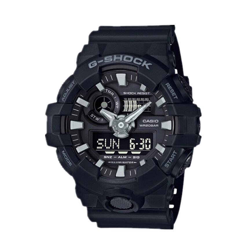 แท้ Casio G-Shock นาฬิกาข้อมือผู้ชาย รุ่น GA-700-1BDR (สีดำ) casio cmg