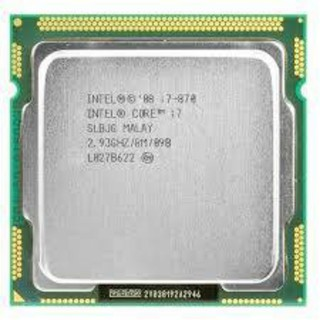 i7 870 socket 1156 4 core 8 thread