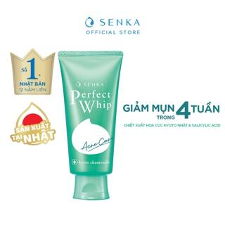 Hình ảnh [MÃ COS209 -8% ĐH250K]Sữa rửa mặt dành cho da mụn Senka perfect whip acne care 100g_15554-1