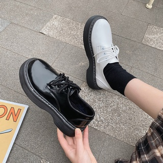 Giày Da Đế Dày Thời Trang 2021 Cho Nữ thumbnail